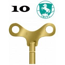 LLAVE RELOJ DE PARED DEL Nº 10