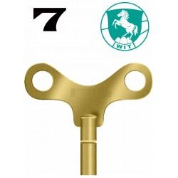 LLAVE WIT PARA RELOJES DE PARED DEL Nº 7