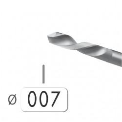 6 BROCAS ACERO Nº 58 DE 0,70 MM